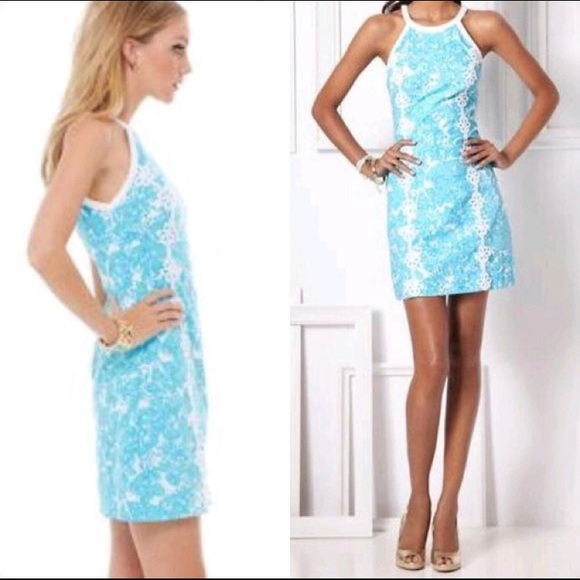 Lilly Pulitzer Pearl Shift in She's a Fox Print